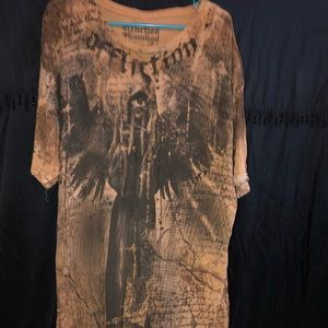 Men's designer Affliction T's